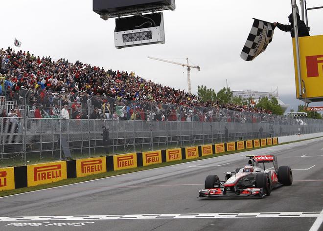 Дженсон Баттон выигрывает Гран-при Канады