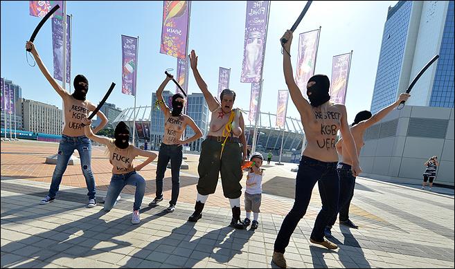 Акции Femen