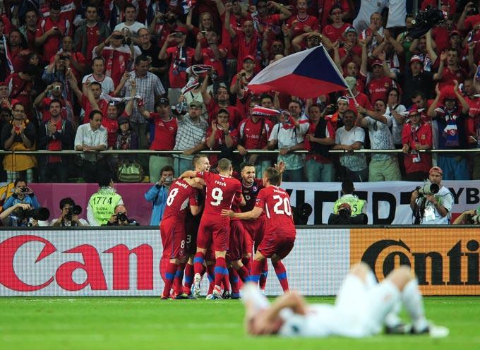 Сборная Чехии вышла в четвертьфинал Евро