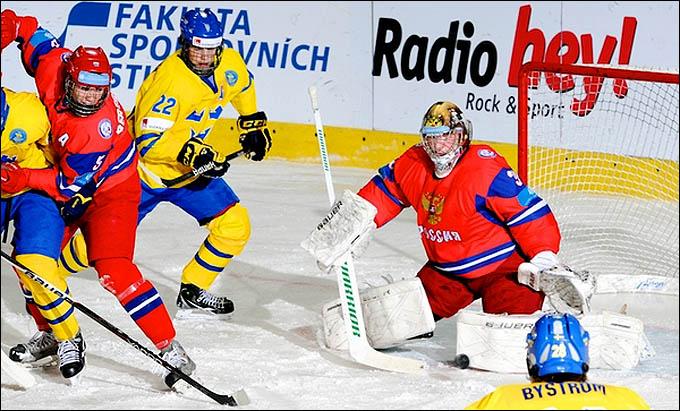 17 апреля 2012 года. Зноймо. Юниорский чемпионат мира. Швеция — Россия — 2:0
