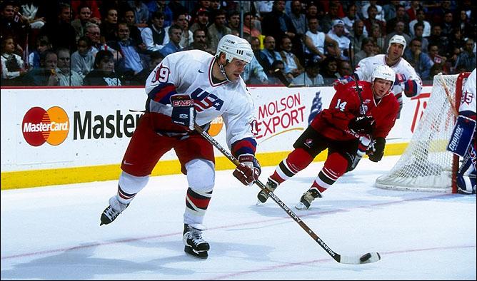 … в составе сборной США на Кубке Мира-1996…