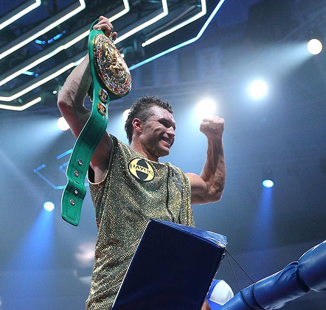 Григорий Дрозд — новый чемпион мира WBC в первом тяжёлом весе