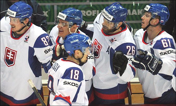 19 мая 2012 года. Хельсинки. Чемпионат мира. 1/2 финала. Чехия — Словакия — 1:3