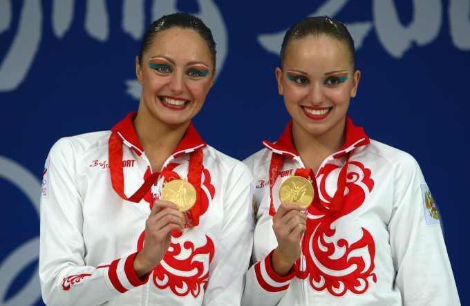 Анастасия Давыдова и Анастасия Ермакова