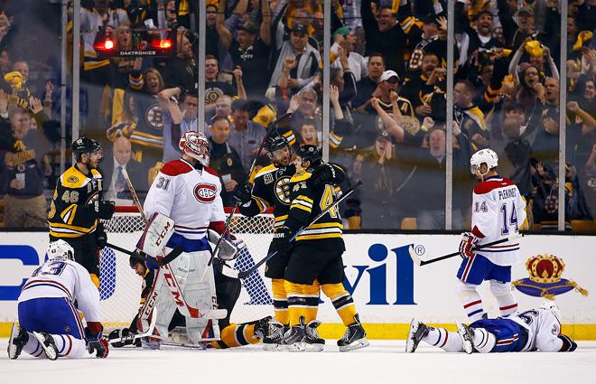 14 мая 2014 года. Бостон. Кубок Стэнли. 1/4 финала. Матч № 7. «Бостон» — «Монреаль» — 1:3