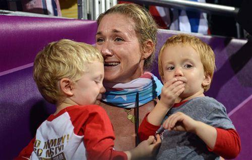 В Лондоне-2012 Керри Уолш выиграла третью золотую олимпийскую медаль