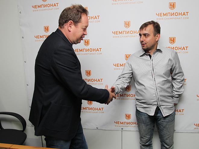 Леонид Слуцкий и Денис Целых