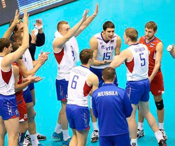 Россия — США — 3:0. Россияне радуются победе над американцами