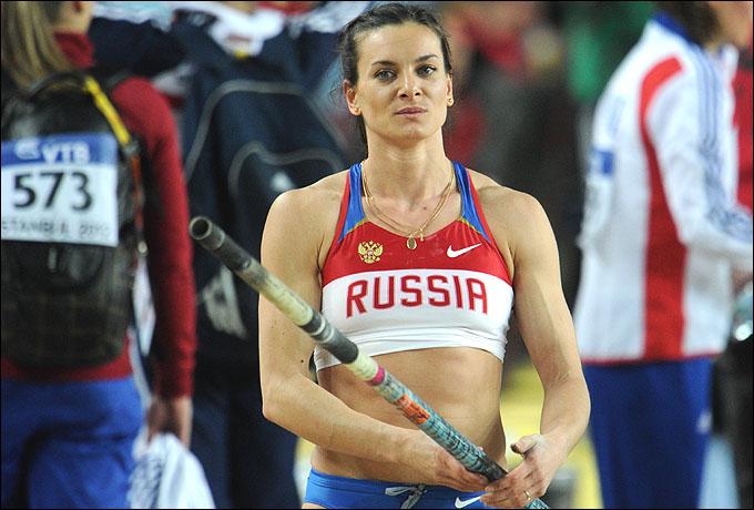 Елена Исинбаева. Очередная высота – третье золото Олимпийских игр