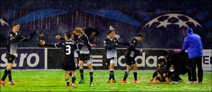 Хорваты забили свой первый гол в групповом турнире Лиги чемпионов