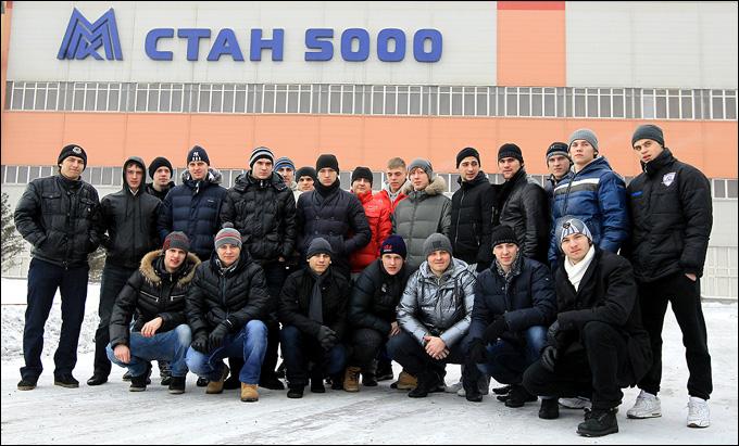Молодые звезды на Магнитогорском металлургическом комбинате