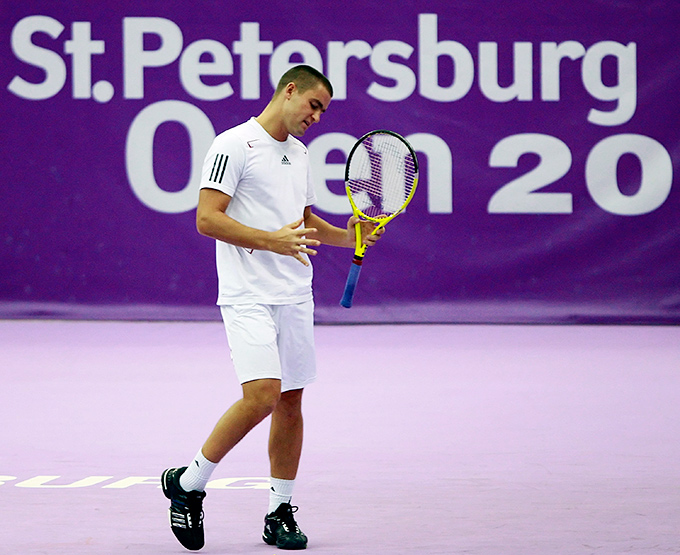 Михаил Южный был постоянным участником St. Peterburg Open
