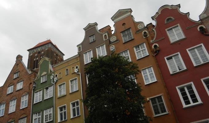 Гданьск очень красив и разнообразен