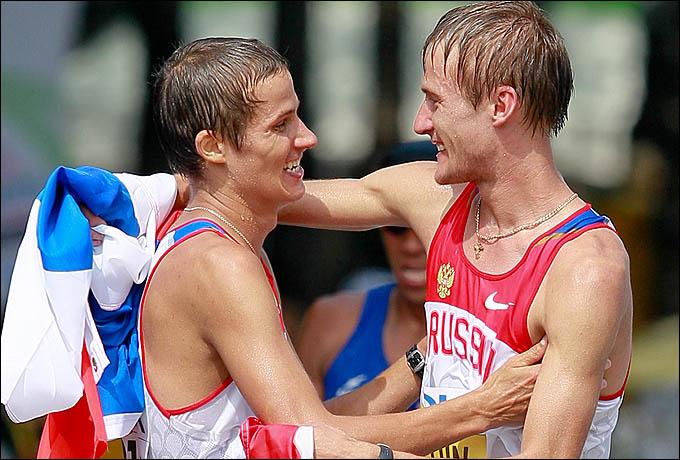 Валерий Борчин и Евгений Канайкин. Русские идут