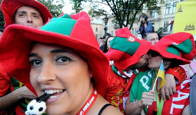 Боолельщики сборной Португалии