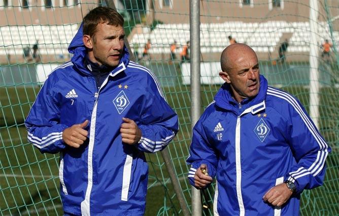 Шевченко после травмы в основном работал по индивидуальной программе