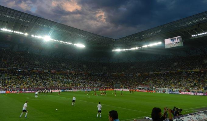 Львовсий стадион, пожалуй, самый удобный для зрителей из всех арен Евро