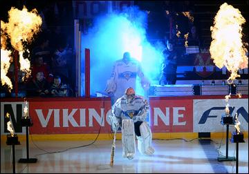 7 ноября 2013 года. Хельсинки. Еврохоккейтур. Россия — Финляндия — 3:4. Церемония открытия турнира