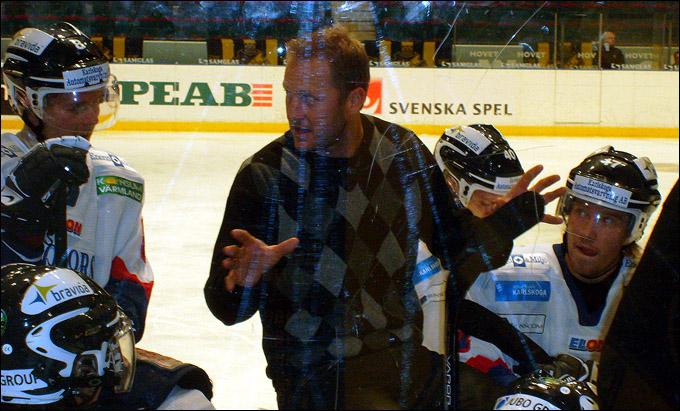 Магнус Арведсон на тренерском мостике