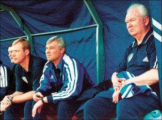13 мая 2002 года. Запорожье. Последний матч Лобановского