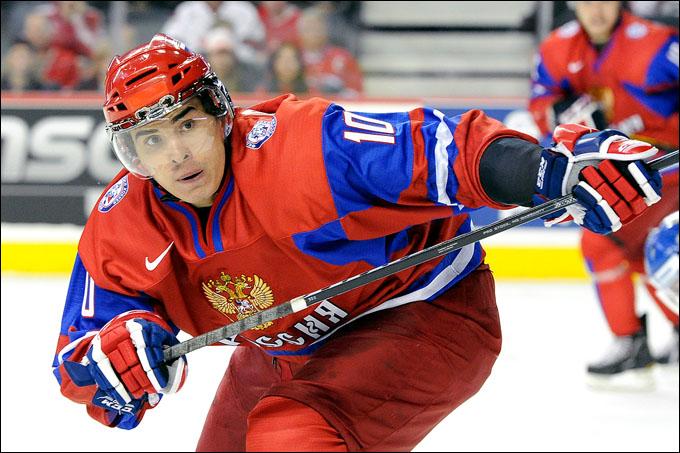 Наиль Якупов в молодежной сборной России