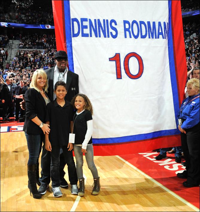 4 апреля 2011 года Родман был введён в Зал баскетбольной славы