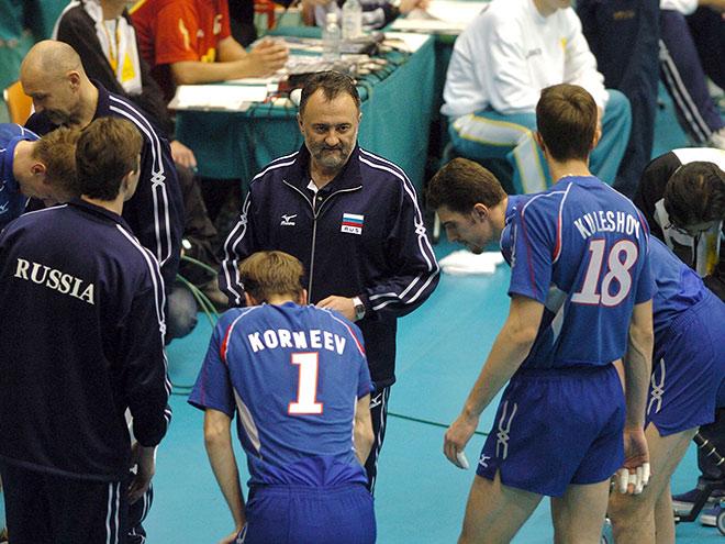 Впервые со сборной России работал иностранный специалист – Зоран Гайич