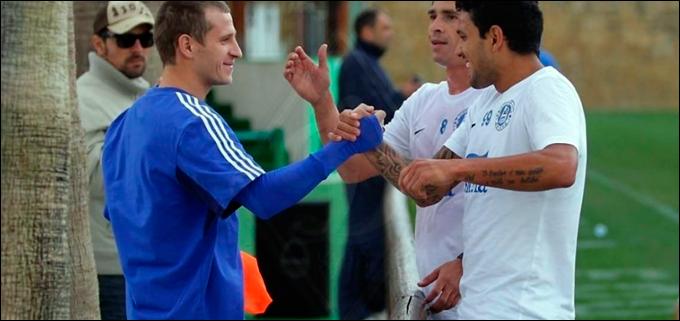 Алиев в Испании встретил днепрян Матеуса и Джулиано