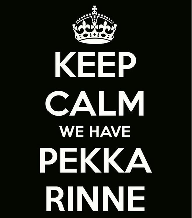 Слоган про Пекку Ринне