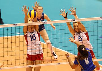 Юлия Морозова на блоке