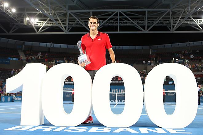 Тысяча побед Федерера
