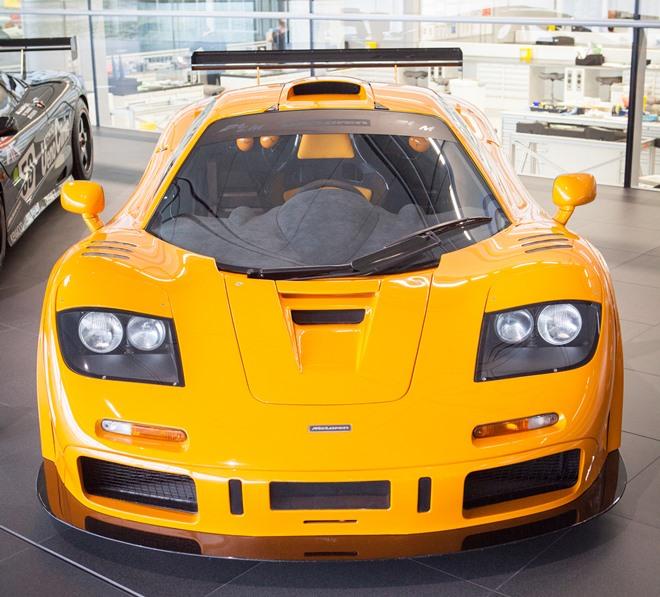 Автомобиль F1 LM, который Деннис пообещал Льюсу за 3 титула
