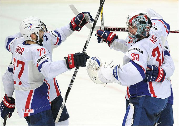 14 мая 2012 года. Хельсинки. Чемпионат мира. Групповой турнир. Белоруссия — Франция — 1:2