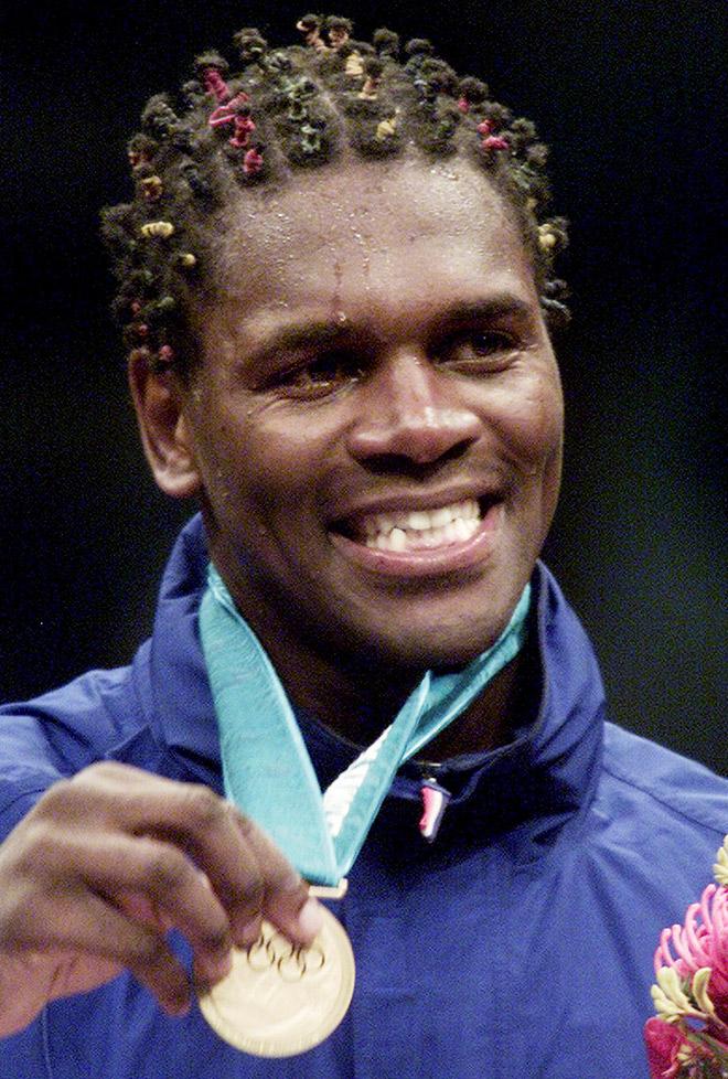 Одли Харрисон — олимпийский чемпион 2000 года