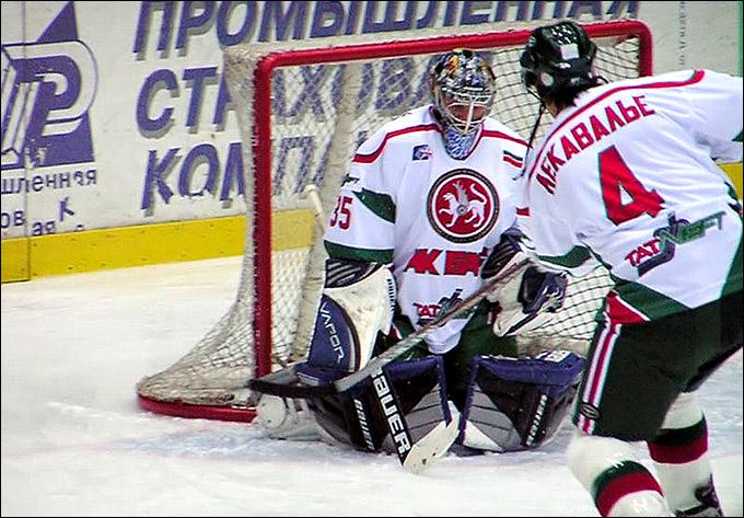 Николай Хабибулин и Венсан Лекавалье