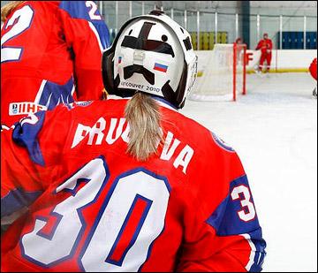 Анна Пругова на скамейке запасных