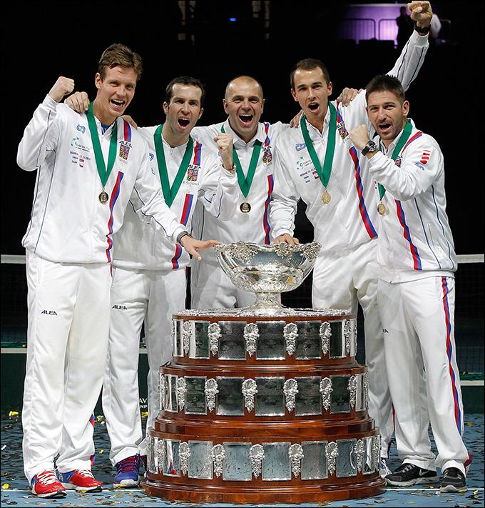 Сборная Чехии во второй раз подряд победила в Кубке Дэвиса