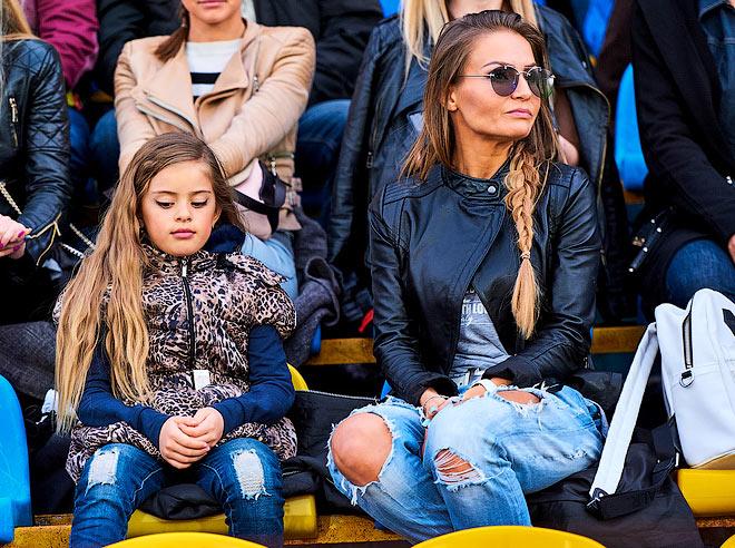 Анастасия Кудряшова с дочерью Миланой
