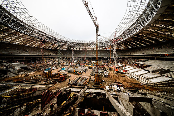 «Стадион Лужники», Москва