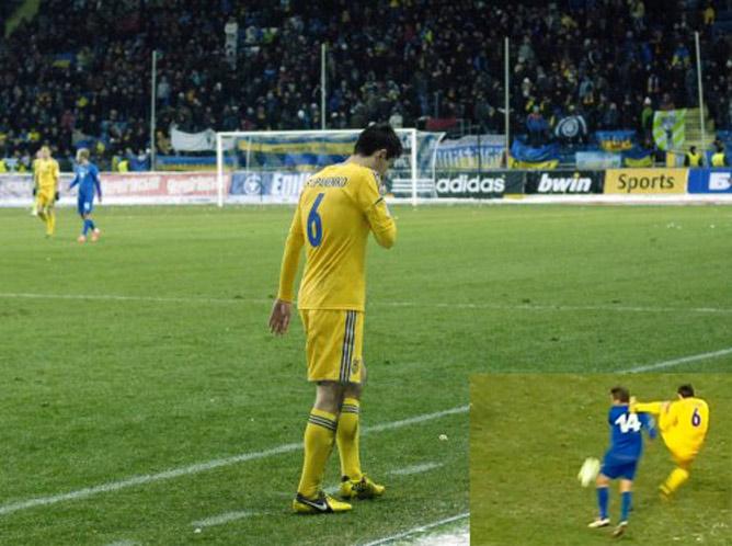 ФИФА дисквалифицировала украинца на два матча