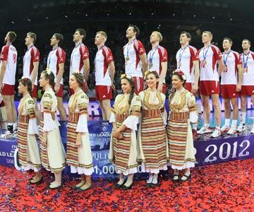 Сборная Польши — победители последнего розыгрыша Мировой лиги
