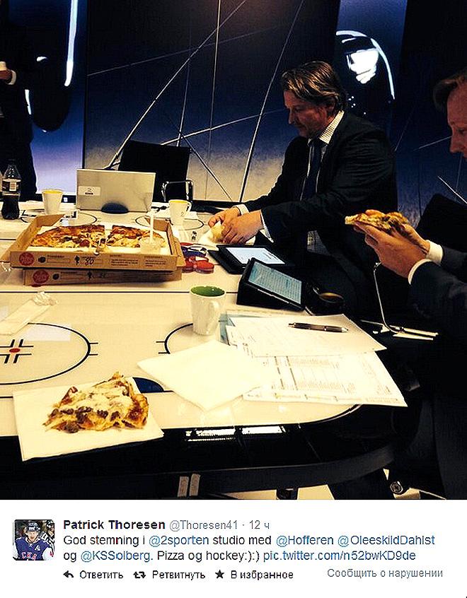Чем питаются норвежские телевизионщики?