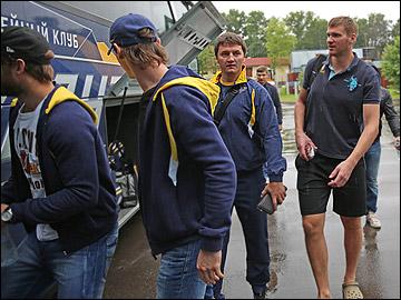 """В заслуженный выходной хоккеисты """"Атланта"""" отправились в Дрезден"""