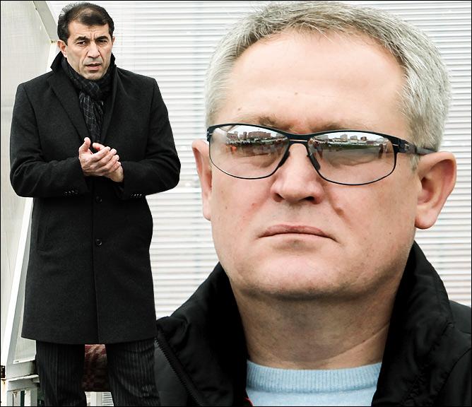 Рашид Рахимов и Юрий Красножан
