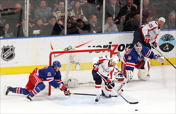 "1 мая 2012 года. Санрайз. Плей-офф НХЛ. 1/4 финала. ""Нью-Йорк Рейнджерс"" — ""Вашингтон Кэпиталз"" — 2:3"