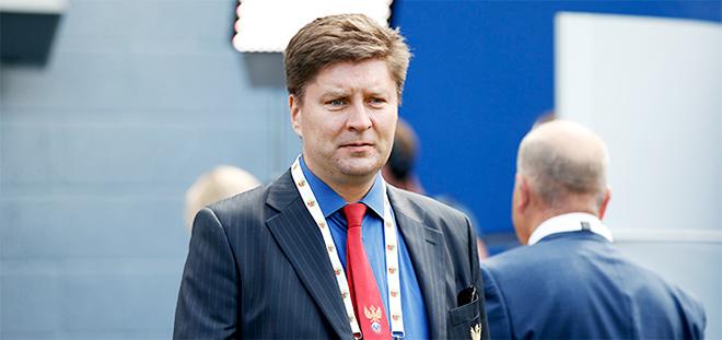 Старший офицер безопасности РФС Дмитрий Виноградов