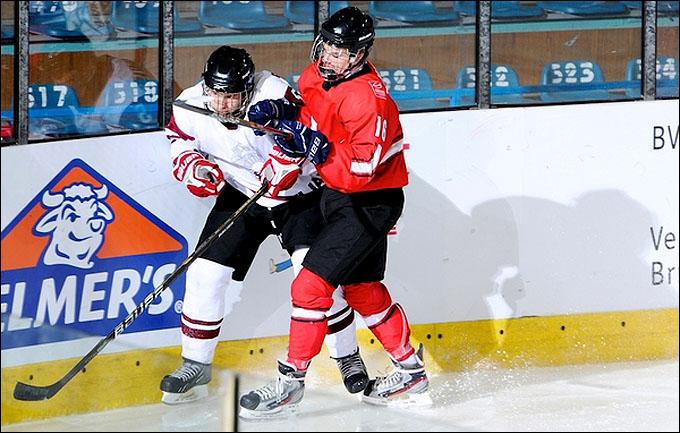 12 апреля 2012 года. Зноймо. Юниорский чемпионат мира. Швейцария — Латвия — 2:4
