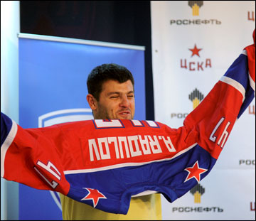 Александр Радулов — главный джокер ЦСКА