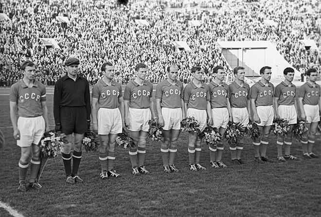 Сборная СССР выиграла первый чемпионат Европы