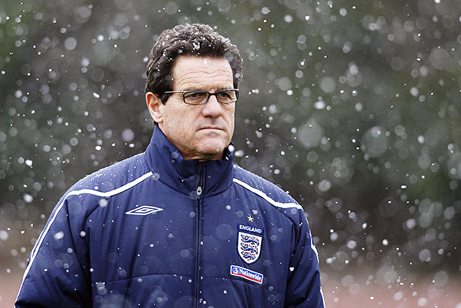 Фабио Капелло — главный тренер сборной Англии